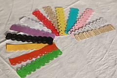 Drobnosti - Zapichovačky z papiera (rôzne tvary a farby) - 10824212_