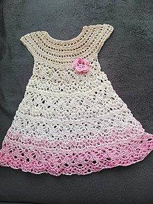 Detské oblečenie - Letné šatičky - 10821944_