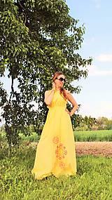 Šaty - Slnečné maxi-šaty SKLADOM - 10824644_