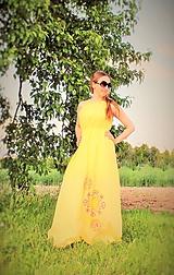 Šaty - Slnečné maxi-šaty SKLADOM - 10824645_