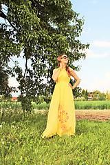 Šaty - Slnečné maxi-šaty SKLADOM - 10824646_