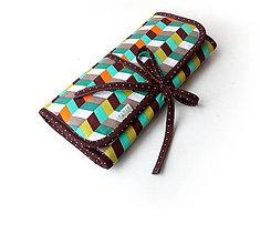 Iné tašky - Púzdro na šperky Geometria - 10823415_