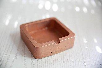 Dekorácie - betónový popolník - 10823819_