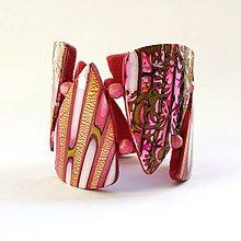 Náramky - Ružový náramok - 10823022_