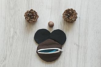 Detské tašky - Peňaženka myška - 10823795_