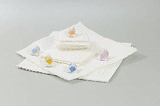 Úžitkový textil - Odličovacie tamóny a uteráčiky - 10824496_
