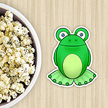 Dekorácie - Žabie grafiky na potlač koláča (žaba) - 10822645_