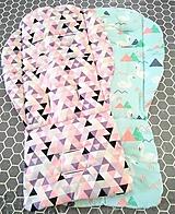 Úžitkový textil - Podložka do kočíka - 10826731_