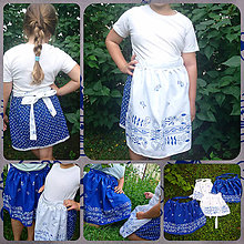 Úžitkový textil - Keď mamka s dcérkou varí štýlovo ♥ - 10827350_