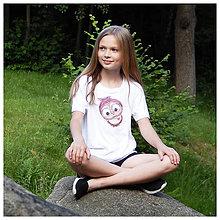 Detské oblečenie - Detské COOL tričko - OčiPuči Sladká Kaika - 10827259_