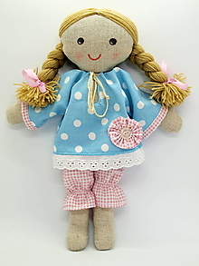 Bábiky - Katka (bábika 1) - 10827624_