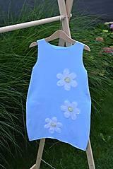 Detské oblečenie - Úpletové balónové šaty Uliuli - 10826374_