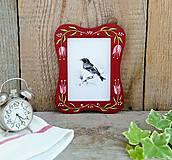 Rámiky - Maľovaný rámček - na chalupu - 10826319_