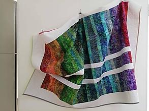 Úžitkový textil - Quiltovaná prikrývka - 10827423_