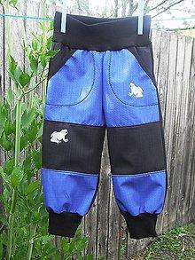 Detské oblečenie - softshellové kalhoty - 10825594_