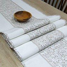 Úžitkový textil - JULIA - stredový obrus - 10825163_