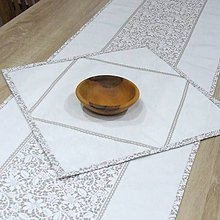 Úžitkový textil - JULIA - obrúsok štvorec 40x40 - 10825175_