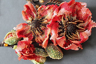 Náhrdelníky - Náhrdelník Poppy - 10827474_