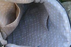 Kabelky - Daria šedá 2 v 1  LISTY - 10825274_