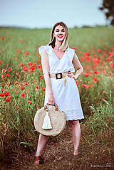 Šaty - Letné šaty biele - 10826943_
