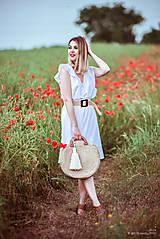 Šaty - Letné šaty biele - 10826945_
