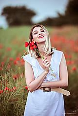 Šaty - Letné šaty biele - 10826946_