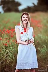Šaty - Letné šaty biele - 10826947_