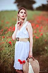 Šaty - Letné šaty biele - 10826948_