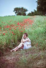 Šaty - Letné šaty biele - 10826949_