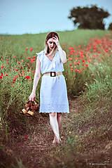 Šaty - Letné šaty biele - 10826950_