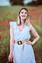Šaty - Letné šaty biele - 10826951_