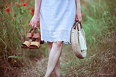 Šaty - Letné šaty biele - 10826952_