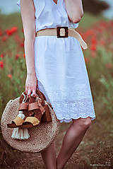 Šaty - Letné šaty biele - 10826953_