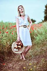 Šaty - Letné šaty biele - 10826954_