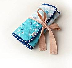 Iné tašky - Púzdro na šperky Lastovičky - 10827288_