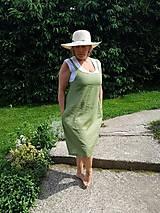 Šaty - Olivové šaty - 10825525_
