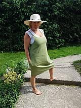 Šaty - Olivové šaty - 10825527_