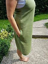 Šaty - Olivové šaty - 10825528_