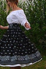Sukne - Suknica Bordúra Folk midi - 10829124_