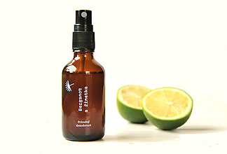 Drogéria - Sprejový dezodorant Bergamot a limetka (50 ml) - 10827917_