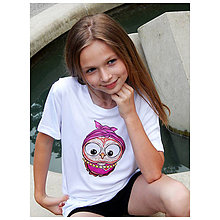 Detské oblečenie - Detské tričko - OčiPuči Cukrová Kaika - 10827918_