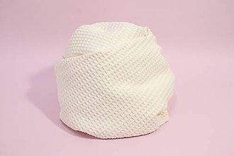 Textil - Vaflová prikrývka - Smotanová - 10828218_