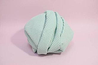 Textil - Vaflová prikrývka - Bledozelená - 10828271_