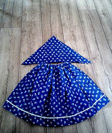 Detské oblečenie - Folklórna detská sukňa - 10829513_