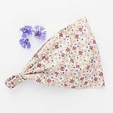 Ozdoby do vlasov - Jemné květy pro vílu - 10827895_