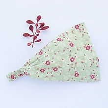 Ozdoby do vlasov - Vínové květiny v mlžném lese - 10830376_