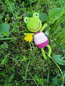 Kľúčenky - Kľúčenka - žabka - 10828291_