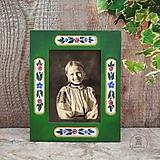Rámiky - Ručne maľovaný rámček - Alpský - 10828203_