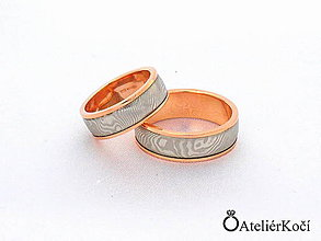 Prstene - Prsten Héra red s červeným zlatem - 10829806_