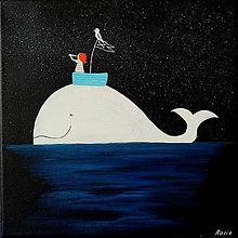 Obrazy - Nočný námorníček - 10828759_